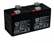 SPS Brand 6V 1Ah Replacement Battery for ELS EDS610 2pack