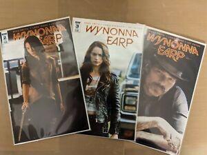 Wynonna Earp (2016) # 2,3,4 NM- photo cover IDW variant HTF low print.