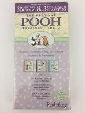 The Original Winnie the Pooh Treasury Vol. 2 Three Hardcover Books & Audio Tapes