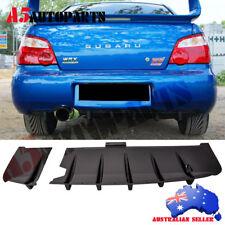 Fits 02-03 Subaru Impreza WRX / STi Rear Diffuser Splitter - ABS