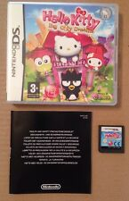 Hello Kitty Big City Dreams Ds Game 100% Tested.