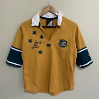 Australia Wallabies Canterbury 2004/2005 Rugby Jersey Shirt Womens Ladies 14