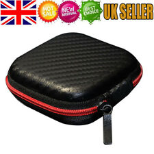 Earphone Carry Storage Case Bag Earbud Headphone Cable Protector Box Zip Pouch