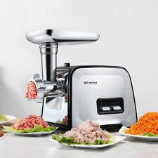 400W Electric Meat Grinder & Sausage Stuffer Home Food Mincer Meat Grinder Steel