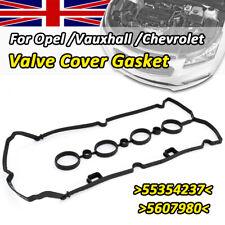 CAM ROCKER COVER GASKET For VAUXHALL ZAFIRA ASTRA CORSA INSIGNIA VECTRA 1.6 1.8