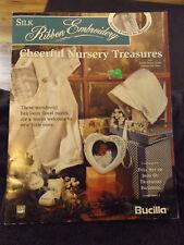 """Cheerful Nursery Treasures"" Silk Ribbon Embroidery Leaflet by Bucilla"
