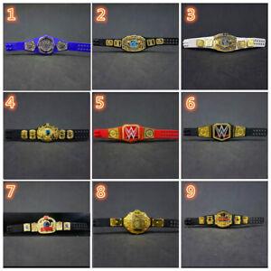Mattel WWE NXT WWF Championship Champion Wrestling Belts Toy Figure Mini Belt