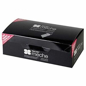 Procare Meche 200 Premium Short/ long Meche Strips highlighting Hairdressing