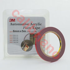 3M 1/4in x 15 ft Double Sided Foam Adhesive Tape 30319 Automotive