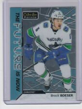 18/19 OPC Platinum Vancouver Canucks Brock Boeser The Future is Now card #FN-2