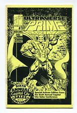 Ultraverse Prime Ashcan Edition