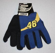 ADULTS JIMMIE JOHNSON #48 NASCAR ALL PURPOSE/UTILITY WORK GLOVES