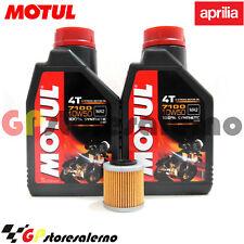 TAGLIANDO OLIO + FILTRO MOTUL 7100 10W50 APRILIA 450 SXV SUPER MOTO 2013