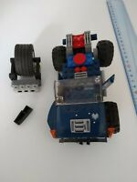 lego - Camion bleu vrac roues véhicule