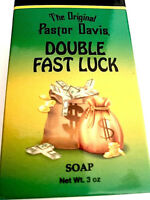 Double Fast Luck Soap Brand is The Original Pastor Davis 3 oz in size