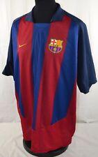 Barcelona Nike Home Football Shirt Jersey 2003/04 XXL Vintage Retro Camiseta