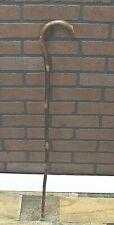 "Vintage / Antique Walking Cane - Two toned Wood 36"""