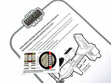 STAR WARS VINTAGE REPLACEMENT STICKERS for MICRO COLLECTION BESPIN GANTRY