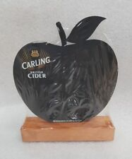 CARLING CIDER Apple Shaped Bar Top Chalk Board - NEW - Home Bar - Pub