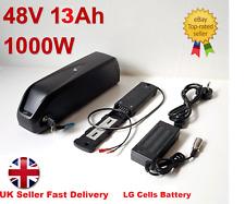 48V 13Ah 1000W Hailong-3 Lithium Li-ion LG Cell e-Bike Battery, USB & UK Charger