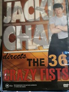 Jackie Chan And The 36 Crazy Fists - DVD - All regions PAL VGC # 116
