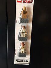 lego star wars detachable magnet set C3-PO, Princess Leia, General Ackbar NEW!!!