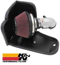 K&N 69 Series Silver Typhoon Air Intake System for 2012-2015 Honda Civic 1.8L L4