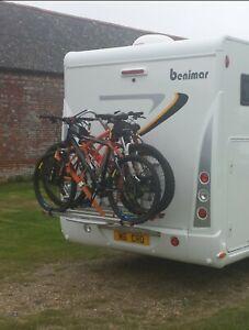 fiamma carry bike pro c 4 bike rack motorhome campervan