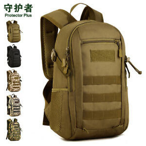 12L Tactical MOLLE Backpack Military Rusksack Assault Pack Small Student School