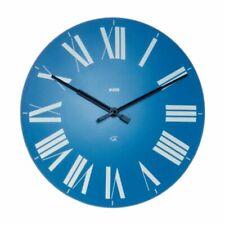 Alessi Firenze Wall Clock, Blue, (12AZ)
