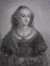 C. E. C. HESS ´JUNGE FRAU (GOVERT FLINCK)´ REMBRANDT, FERDINAND BOL ~1778