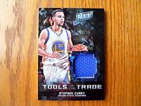 2016 The National Tools of the Trade Stephen Curry Cracked Ice Prizm -Refr #'/25