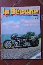 LA BECANE TOUTE LA MOTO EDITIONS ATLAS - N°32 DOUGLAS DRAGSTER DRESCH 1978