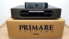 Primare DVD30 Black Ultra High-End Multi Channel CD/DVD/SACD Player *Mega Rare*