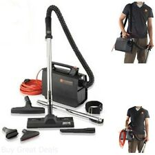 PortaPower Lightweight Commercial Canister Vacuum Vehicle Area Vacuuming