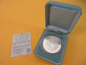 1997 Australian KOOKABURRA 2oz .999 SILVER PROOF $2 COIN Shilling Privy Mark