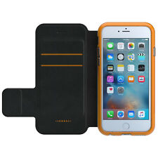 Gear4 Oxford Bookcase for iPhone 6 / 6s with D30 Protection - Black / Orange