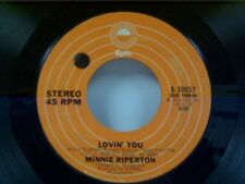 """MINNIE RIPERTON """"LOVIN YOU / THE EDGE OF A DREAM"""" 45"""