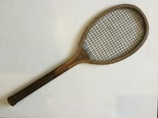 Antique Wooden Tennis Racket Argo from Early 1900s