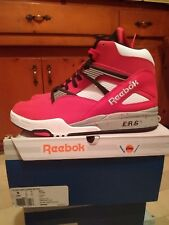 Reebok Pump Omni Lite Bulls Red Black White Size 9