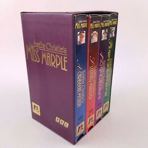 Agatha Christie - Set of 4 VHS Tape Agatha Christie's - Miss Marple - A&E