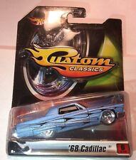 Hot Wheels Custom Classics Blue '68 Cadillac