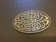 Scottish CELTIC KNOT Design Scotland New BELT BUCKLE New Metal Pewter