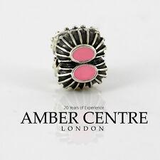 Pandora Silver PINK ENAMEL OYSTER CLIP CHARM  - 790578EN24. RRP£45!!!