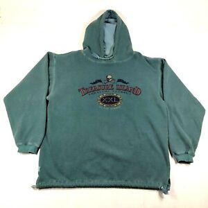 Treasure Island Health Club Mirage Hotel Hoodie Sweatshirt Mens L Green Vegas