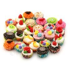 25 miniatura misto Disegno Cupcake con vari colore BASI