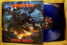GERMAN IMPORT METAL LP: ANNIHILATOR, SUICIDE SOCIETY 032P70 GateFold BLUE VINYL