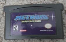 Metroid Zero Mission Game Boy Advance GBA