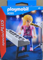 Playmobil Special Plus 9095 Sängerin am Keyboard Piano Mikrofon  NEU NEU