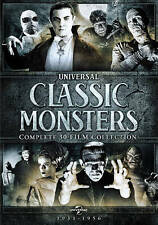 UNIVERSAL CLASSIC MONSTERS COMPLETE 30 FILM COLLECTION New Sealed 21 DVD Set